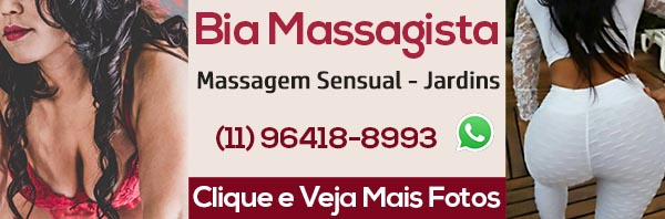 Massagista Bia Jardins - Massagem Erótica