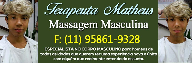 Massagem Masculina Matheus