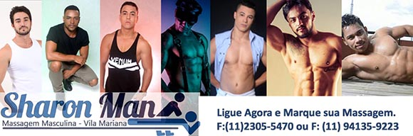 Massagem Masculina Sharon - SP