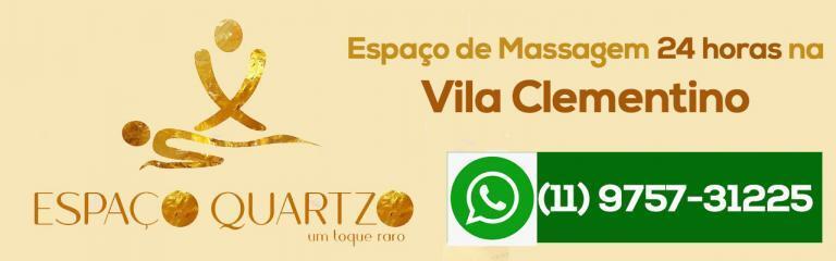 Massagem Vila Clementino. Espaço Quartzo.